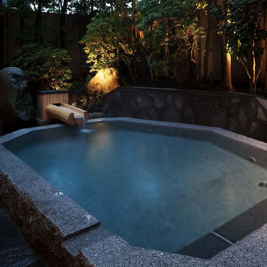 Hot Spring Baths: Ancient Cypress Bath & Four Seasons Bath ...