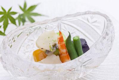 湯波蒟蒻と夏野菜の集い